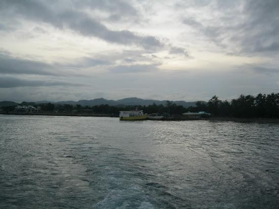 Leaving Danao Pier