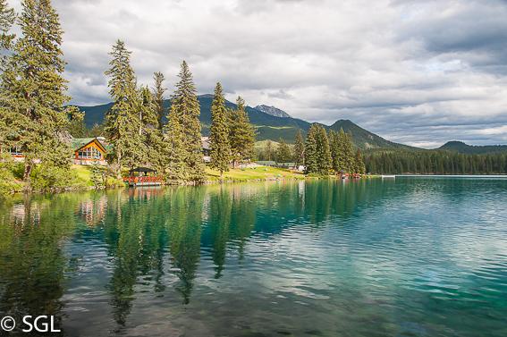 Canada y el aire de las rocosas. Fairmont Hotel-Jasper