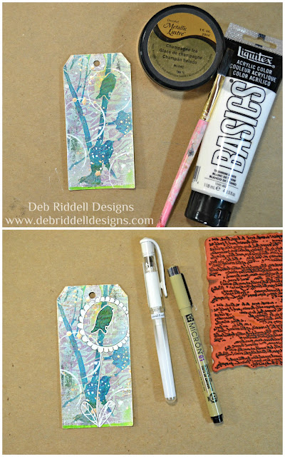 A Strange And Wonderful Place Tag Tutorial Step Two
