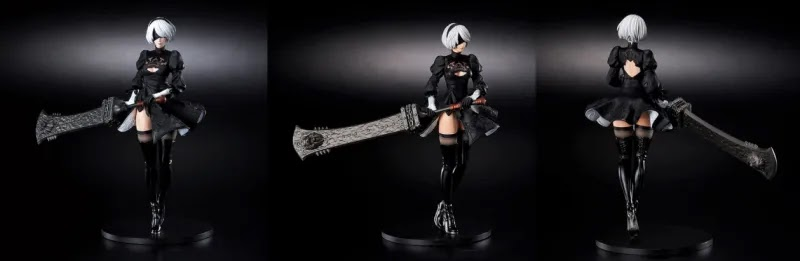 Square Enix Reveals New Figures From NieR Automata And NieR Replicant