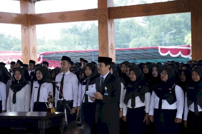 Sebanyak 542 CPNS Kabupaten Bantul Diangkat Menjadi PNS