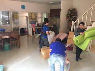 บริการขนย้ายบ้าน กรุงเทพ - สีคิ้ว โคราช พร้อมพักงานยกของ แพ็คของ บริการจัดเก็บ และจัดวาง ''ขนย้าย''