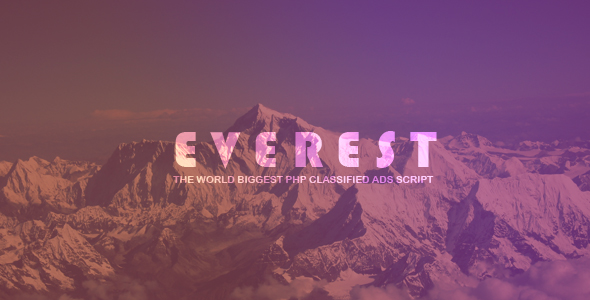 EVEREST v1.2.1 – PHP Classified Ads Script