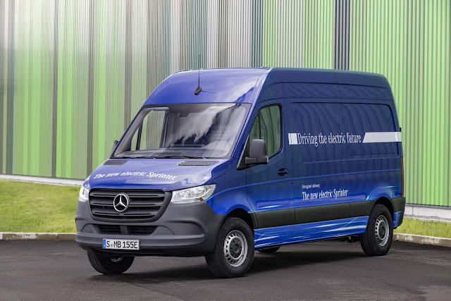 Mercedes-Benz eSprinter 2019 - elétrica