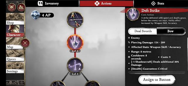 Warhammer odyssey character skills