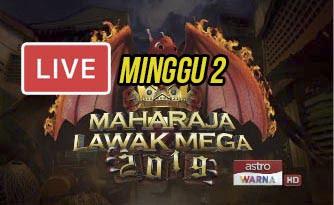 Live Streaming Maharaja Lawak Mega 8.11.2019.