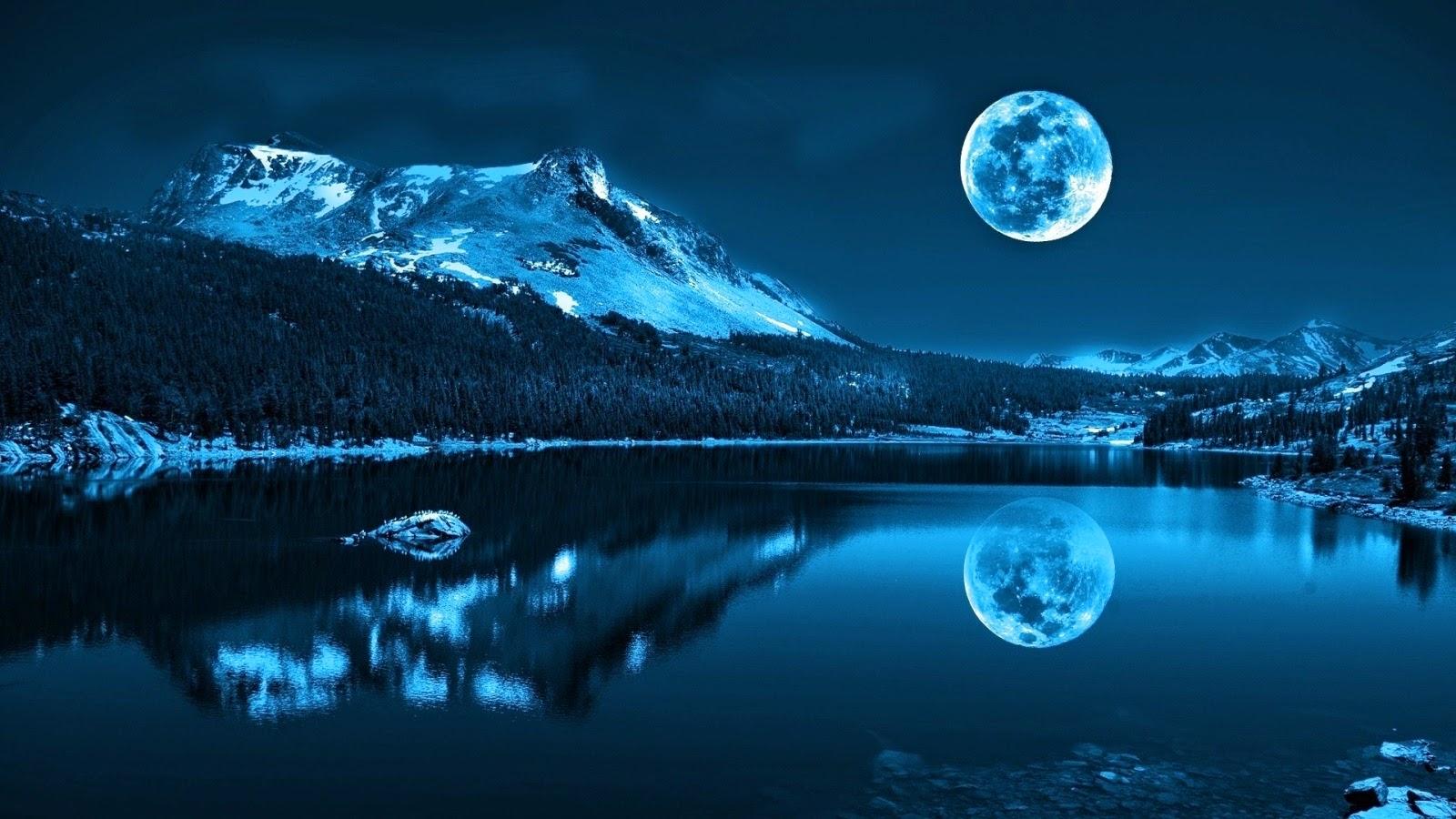 Full Moon HD Wallpaper