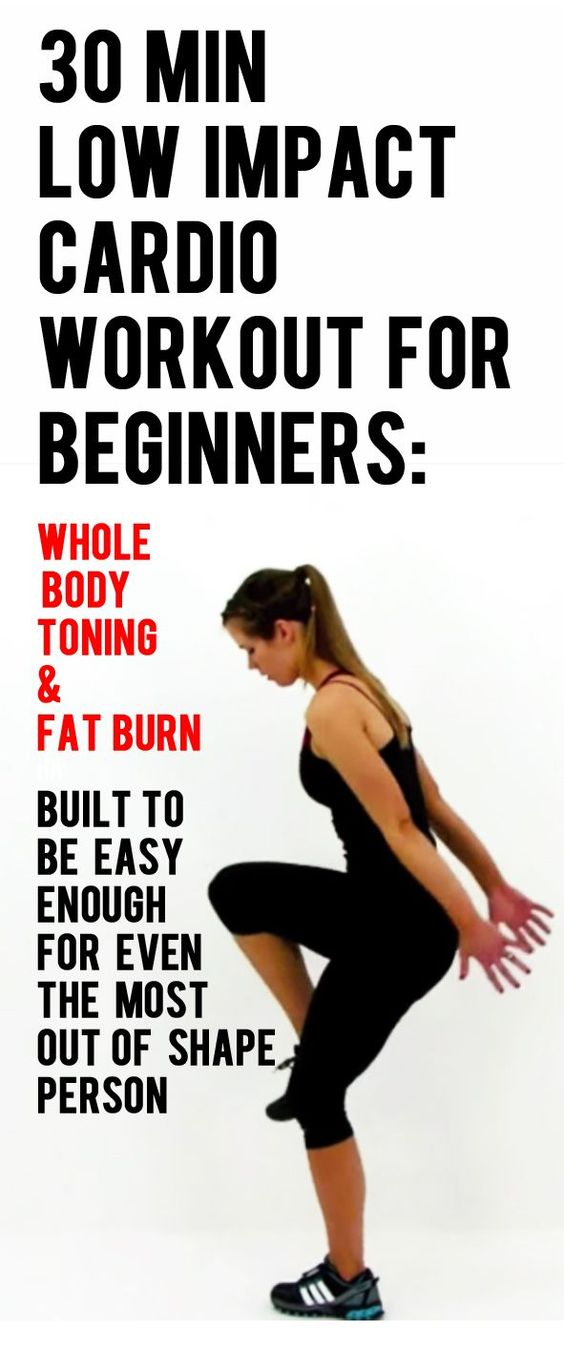 Low impact cardio workout for beginners - beginner cardio & toning workout routine