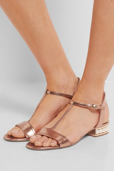 Nicholas Kirkwood Casati t-bar sandals outlet store Locations discount from china cheap sale amazon outlet footaction clearance outlet QzEZZI