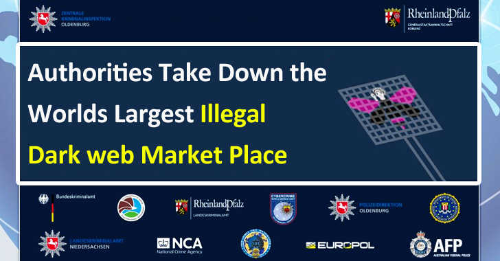 Authorities Take Down the Worlds Largest Illegal Dark web Market Place