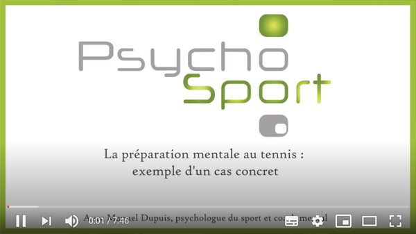 Video Préparation mentale au tennis