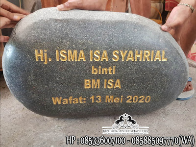 Nisan Batu Alam, Nisan Batu Kali, Jual Nisan Batu Alam