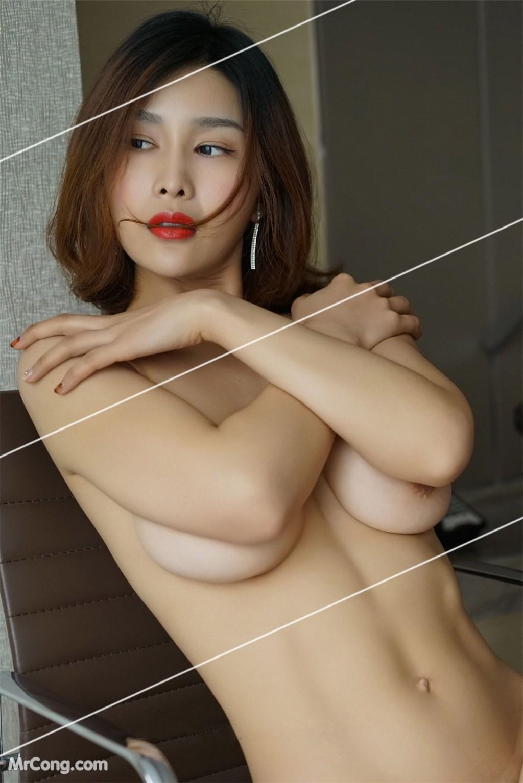 Image Yan-Pan-Pan-Part-3-MrCong.com-042 in post Ngắm vòng một siêu gợi cảm với nội y của người đẹp Yan Pan Pan (闫盼盼) (51 ảnh)