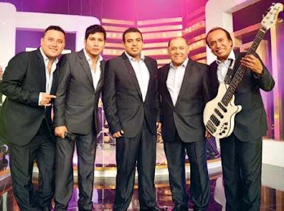 Foto de Agua Marina en programa de TV