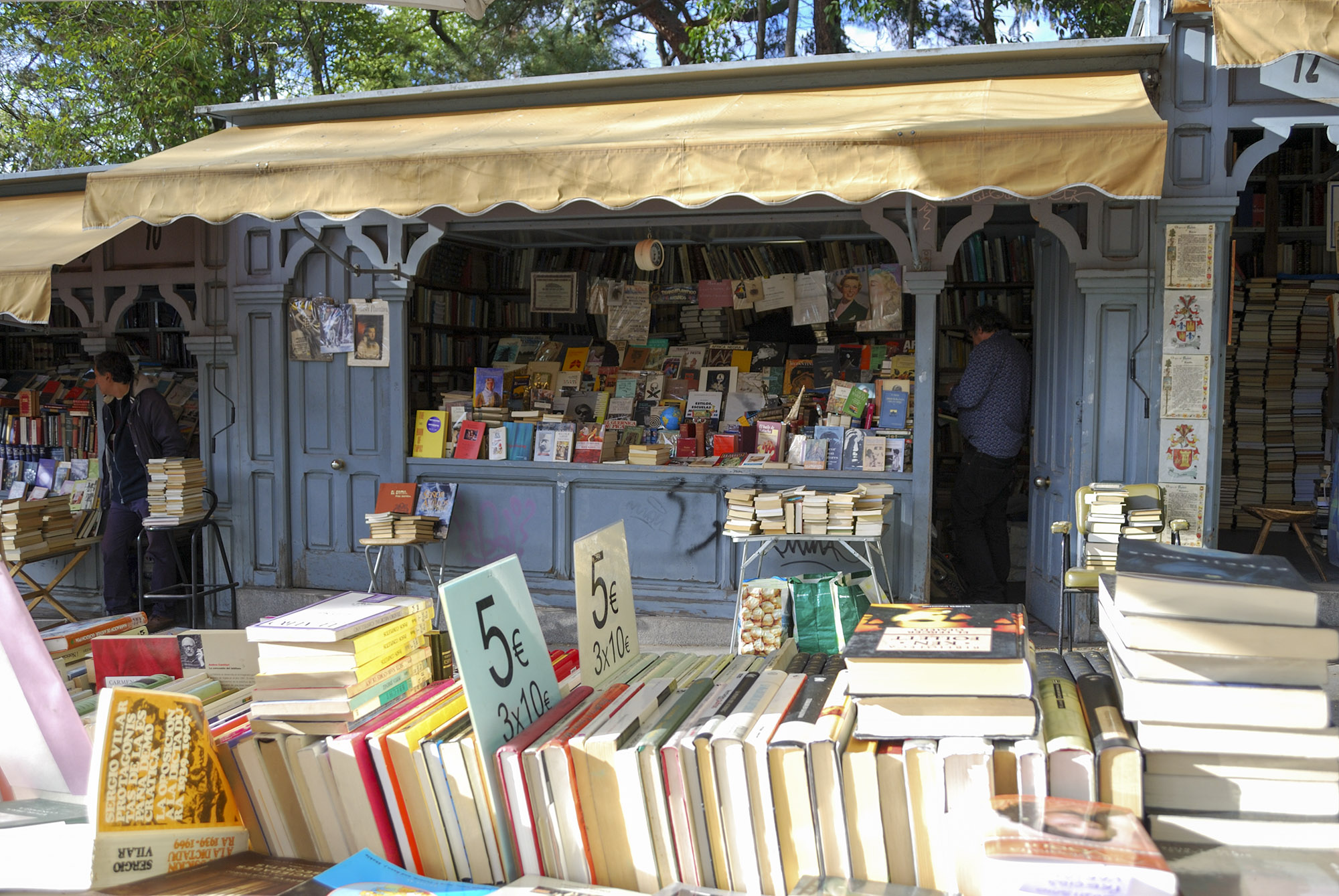 Librerías Cuesta Moyano