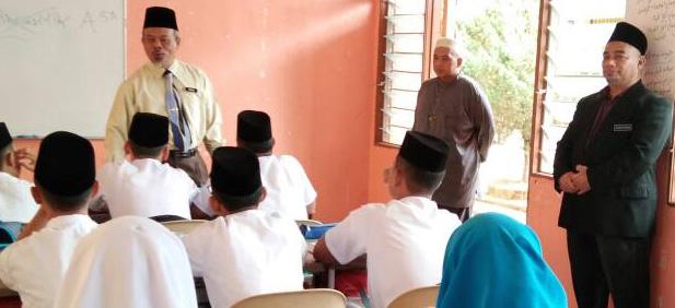Pemantauan oleh Penolong Pengarah Kanan , Ketua Unit Dakwah Dan Syiar Islam. JPN.