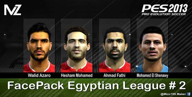 Facepack Egyptian League PES 2013