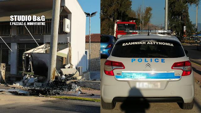 Προσέκρουσε σε περιπολικό της αστυνομίας το αυτοκίνητο με τους δυο νεκρούς στη Δαλαμανάρα