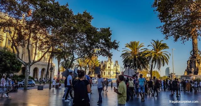 Rambla de Santa Mônica, Barcelona