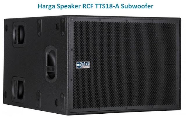 """Harga Speaker RCF TTS18-A Subwoofer 18"""""""