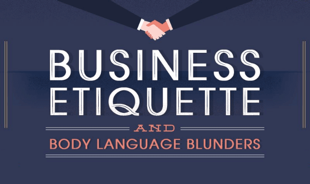 Business Etiquette And Body Language Blunders