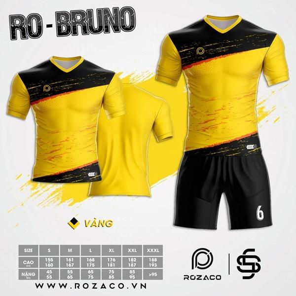 Áo Không Logo Rozaco RO-BRUNO Màu Vàng
