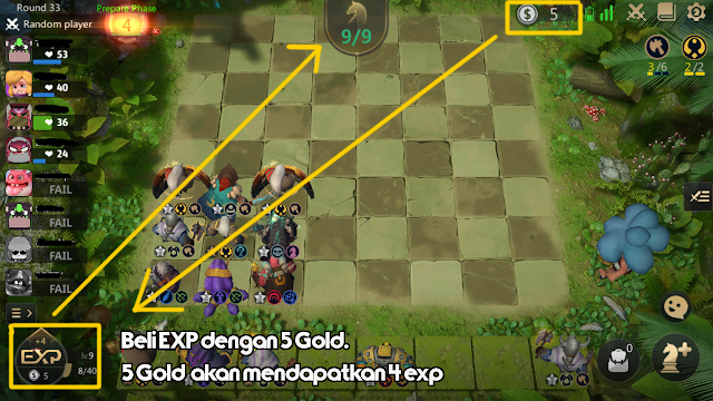 Bagimana Cara Menambah Slot Bidak Hero Di Game Auto Chess Mobile