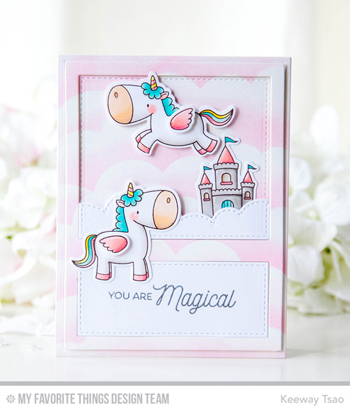 Handmade card from Keeway Tsao featuring products from My Favorite Things #mftstamps