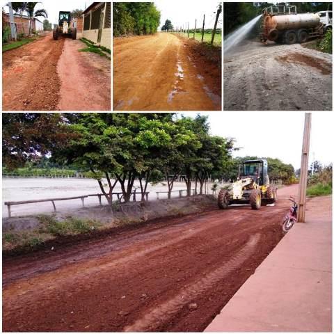 Prefeitura de Ibicoara realiza serviço de manutenção das estradas rurais