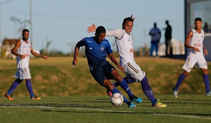Jacobina empata com sub-23 do Bahia em jogo-treino na Cidade Tricolor