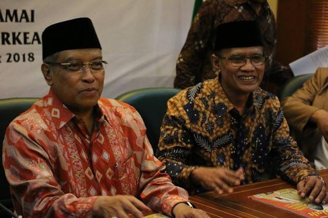 Pengurus Besar NU dan Muhammadiyah Bertemu di Satu Forum