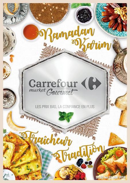 catalogue carrefour market gourmet mai ramadan 2019