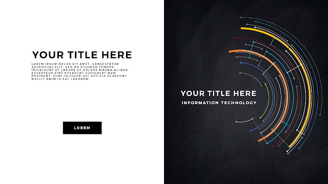 Technical Title and Background Free PowerPoint Template Slide 5
