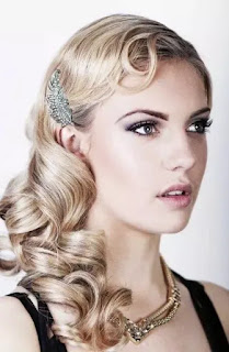 roaring 20's hairstyles for long hair