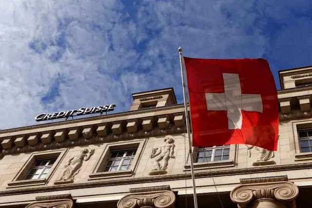 Credit Suisse Bank in Switzerland. Photo: Reuters