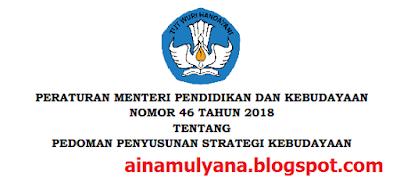 Tentang Pedoman Penyusunan Strategi Kebudayaan PERMENDIKBUD NOMOR 46 TAHUN 2018 TENTANG PEDOMAN PENYUSUNAN STRATEGI KEBUDAYAAN