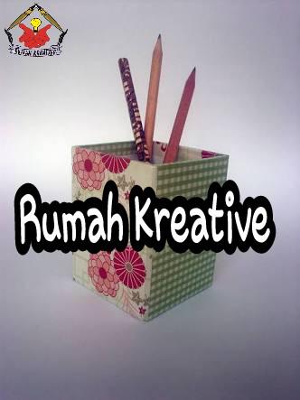 Teknik Membuat Kotak Pensil Dari Kardus Bekas