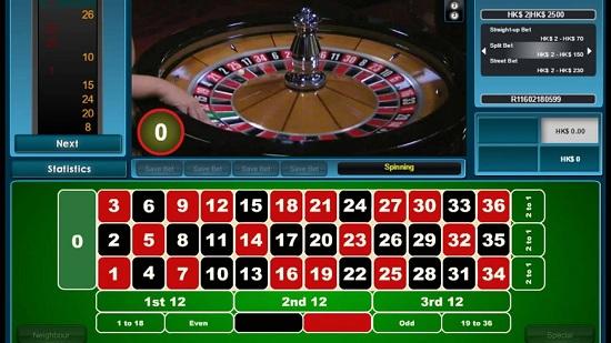 Roulette hiện nay rất phổ biến tại các sòng bài online