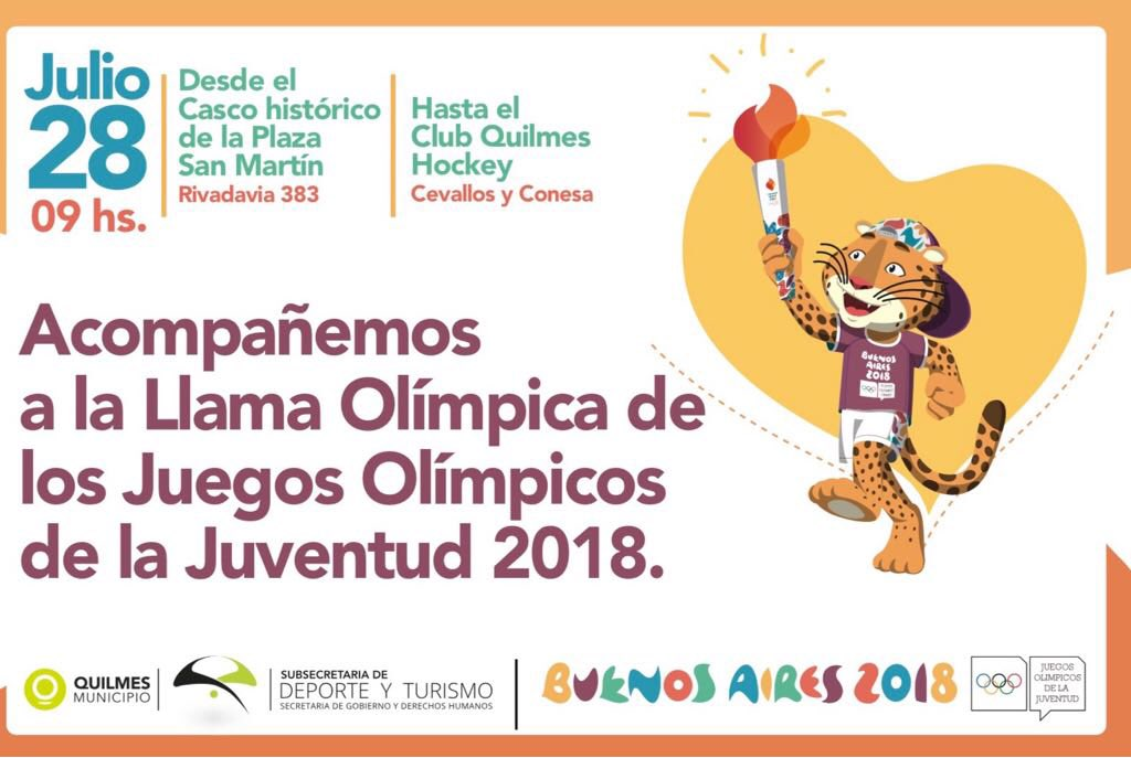 Pasara Por Quilmes La Antorcha De Los Juegos Olimpicos De La