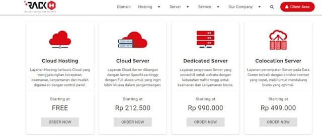 Rackh.com hosting gratis di Indonesia