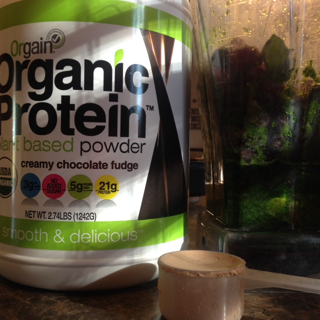 Beauty Begins with Biscotti: Orgain Organic Protein Powder