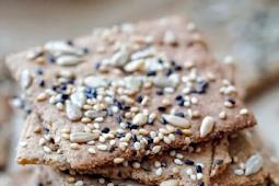 Keto Seeds Crackers (Vegan Keto Low Carb Snack