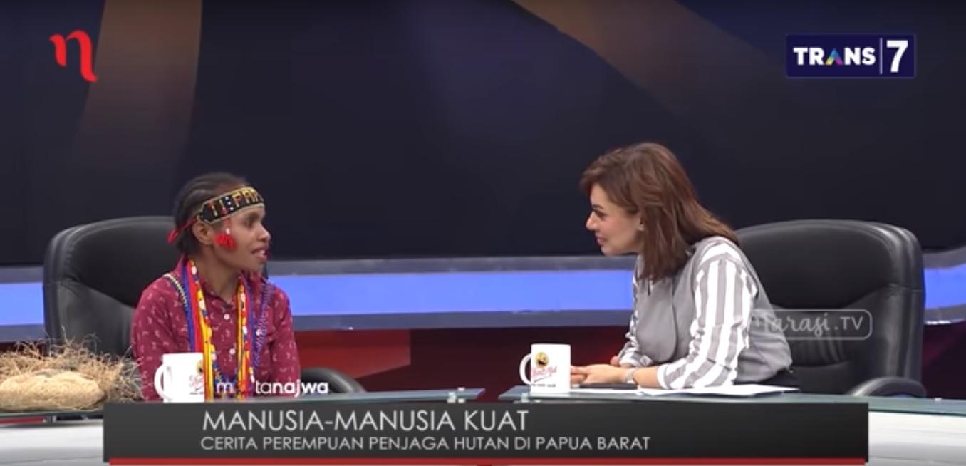 Mata Najwa – Manusia-Manusia Kuat: Perempuan Penjaga Hutan Tambrauw