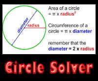 Circle Solver Calculator