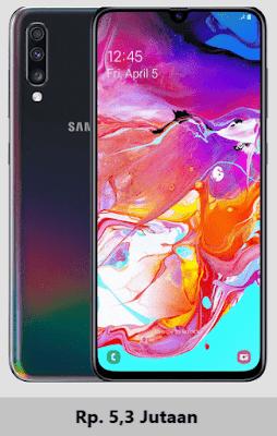 Harga terbaru Samsung Galaxy A70