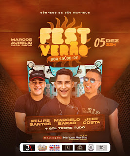Vem aí o Fest Verão na Marcos Aurélio Casa Show