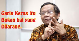 Sebut Prabowo Menang di 'Provinsi Garis Keras', Begini Penjelasan Mahfud Md
