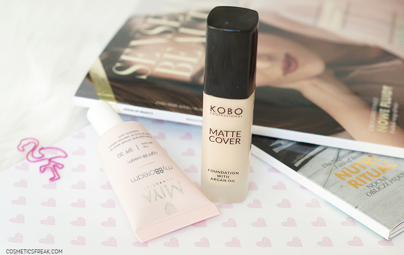kobo professional matte cover miya cosmetics bb cream