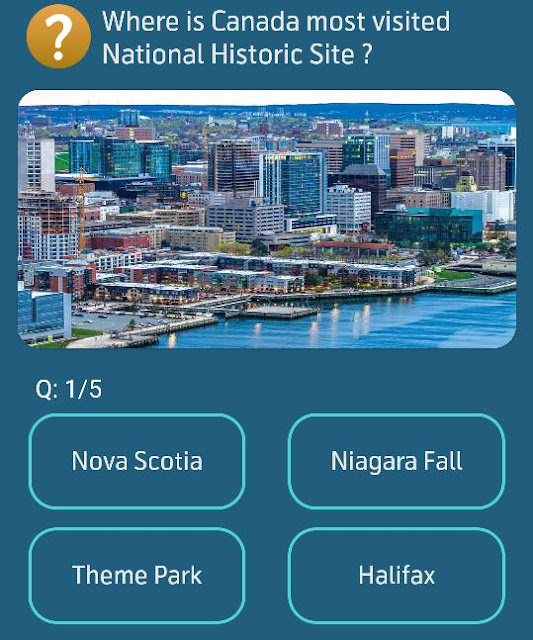 Where is Canada most visited National Historic Site