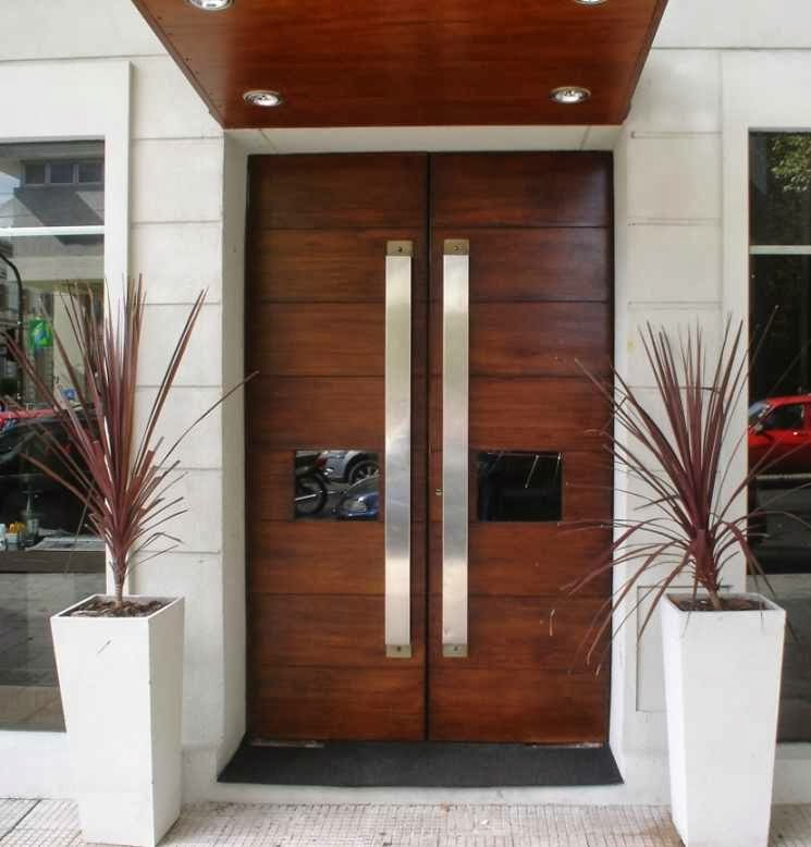 Exterior Design of Front Door